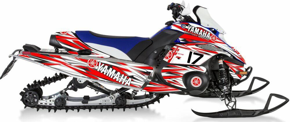 Yamaha fx nytro factory sled wraps for Yamaha nytro tunnel